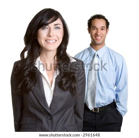 Happy Coworkers - stock photo