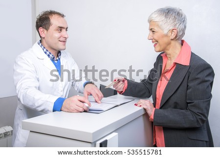 Satisfied Patient Stock Images Royalty Free Images