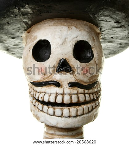 Happy Day of the Dead - stock photo