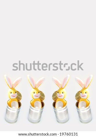 happy easter - stock photo