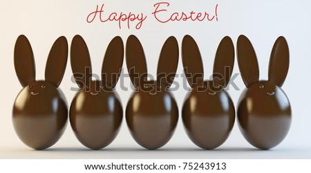 Happy Easter! - stock photo