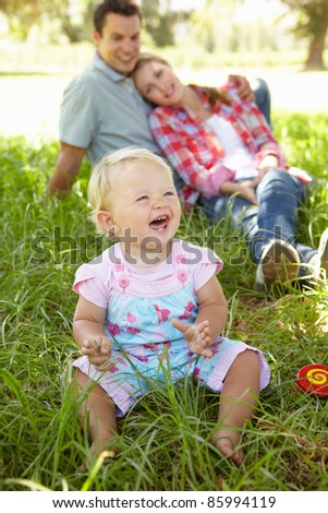 Happy family together - stock photo