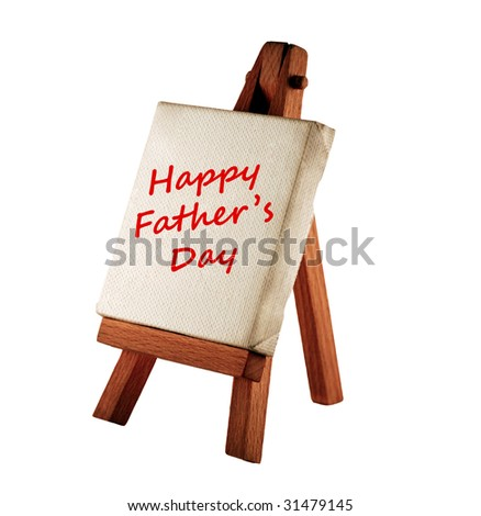 happy father's day message - stock photo