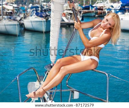 Bikini Boat Stock Images Royalty Free Images Amp Vectors