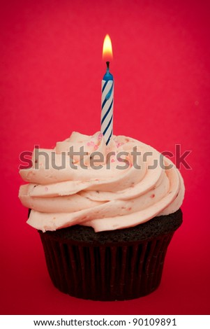 Happy first birthday - stock photo