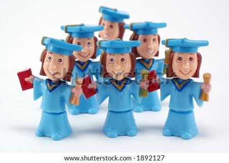 Happy graduation - stock photo