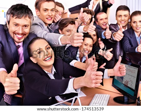 Happy Employees Stock Photos, Images, amp; Pictures  Shutterstock