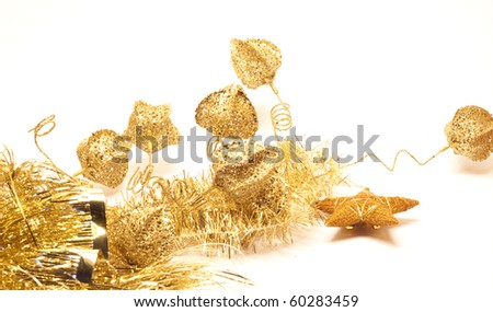 Happy holiday's luxury design over white background - stock photo