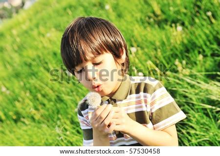 happy kid - stock photo