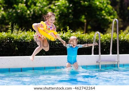 Happy Little Girl Boy Holding Hands Stock Photo 462742264 Shutterstock