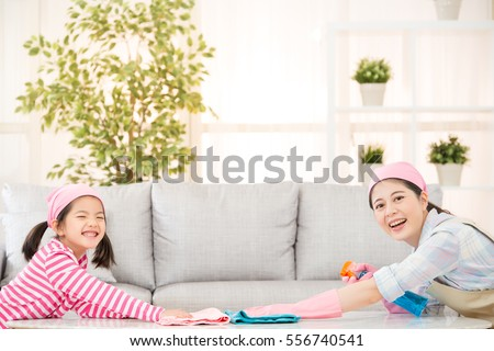 Best Way To Dust Furniture Concept kids cleaning stock images, royaltyfree images & vectors