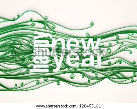 Happy New Year - stock photo