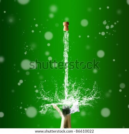 Happy New Year! - stock photo