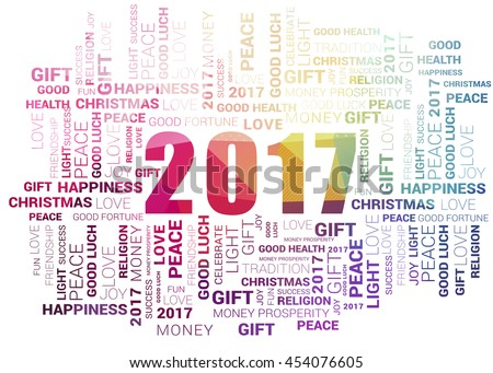 Happy New Year Background, New year creative design for your greetings card