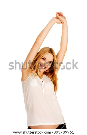 arms stretched stock images royaltyfree images  vectors