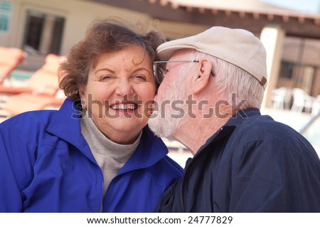 Happy Senior Adult Couple Enjoying Life Together.