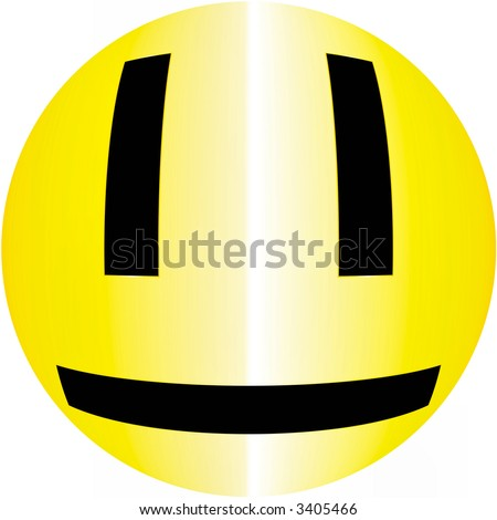 HAPPY SMILEY ACID FACE - don't worry be happy - stock photo