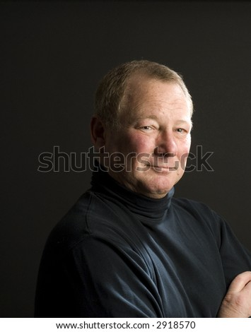 happy smiling confident handsome middle age guy - stock photo