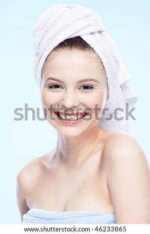 happy spa girl ,
