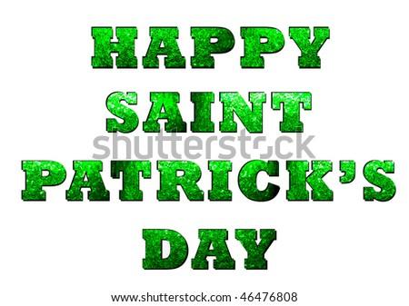 happy st patricks day - stock photo