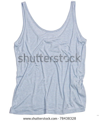Happy_stretched_Tshirt - stock photo