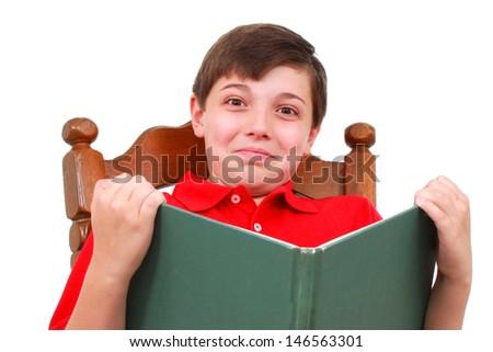 Happy student - stock photo