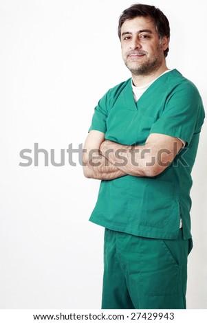 Happy Surgeon - stock photo