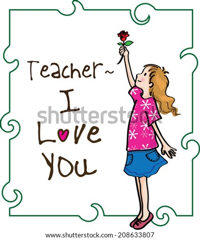 teachers day drawing  Happy Teachers Day Stock Illustration 208633807 - Shutterstock