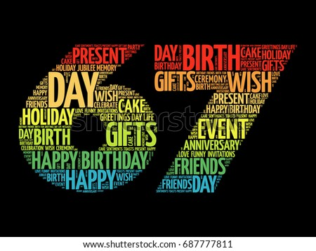 67th Birthday Stock Images Royalty Free Images Amp Vectors
