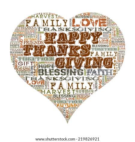 Happy Thanksgiving   - stock photo