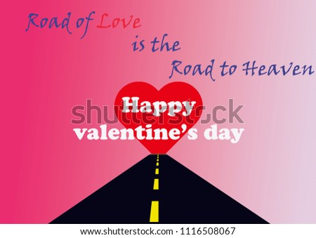 Happy valentines day valentines day greetings stock illustration happy valentines day valentines day greetings greeting card with catchy phrase heart m4hsunfo