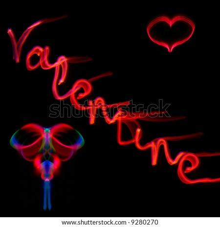 Happy Valentines - stock photo