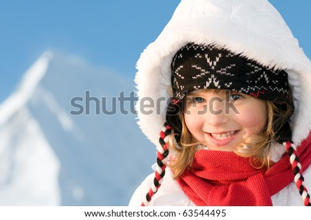 Happy winter holiday - stock photo
