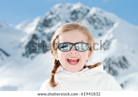 Happy winter vacation - stock photo