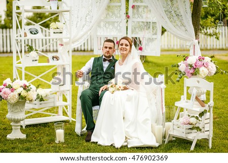 Surprising Groom Carrying Bride On Arms On Stock Photo   Shutterstock With Luxury Happy Young Bride And Groom Sitting In The Garden Around A Vintage White  Wedding Decor With Alluring Holyrood Gardens Also Children Garden Tools In Addition Garden Trends And Garden Water Fountain As Well As Hanging Gardens Of Babylon Drawing Additionally In Excess Garden Centre From Shutterstockcom With   Luxury Groom Carrying Bride On Arms On Stock Photo   Shutterstock With Alluring Happy Young Bride And Groom Sitting In The Garden Around A Vintage White  Wedding Decor And Surprising Holyrood Gardens Also Children Garden Tools In Addition Garden Trends From Shutterstockcom