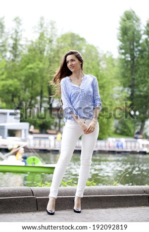 White Pants Stock Photos, Royalty-Free Images & Vectors - Shutterstock