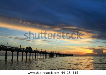 Coastal landscape beach fence stock photo 598330448 for Seaview fishing pier