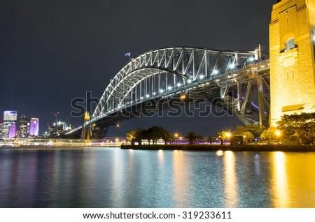 Harbor Bridge - stock photo