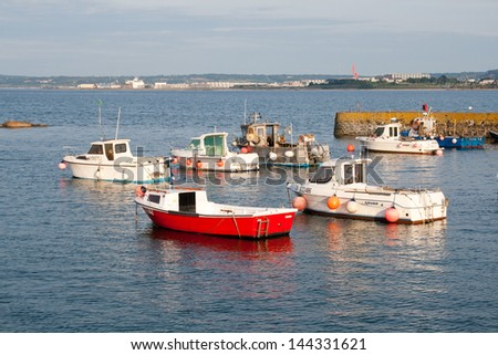 Harbor in Cherbourg-Octeville, Normandy, France - stock photo