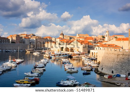 harbor in Dubrovnik