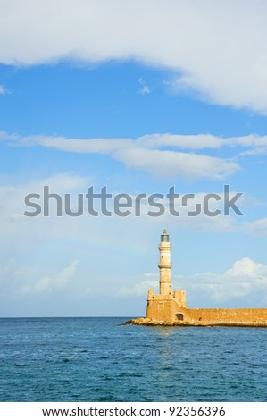Harbor of Chania/Crete/Greece
