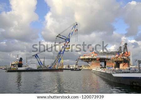 Harbor View - stock photo