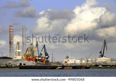 Harbor View - stock photo