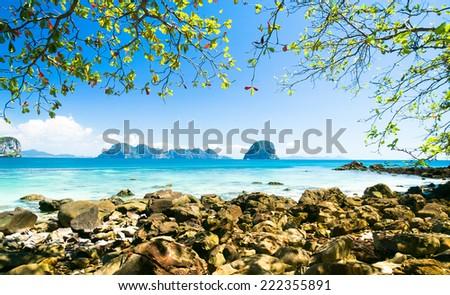 Harbor Waters Quiet Getaway  - stock photo