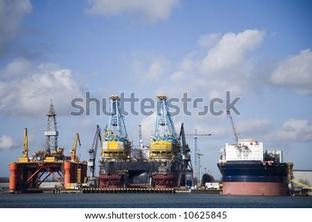 Harbour 5 - stock photo