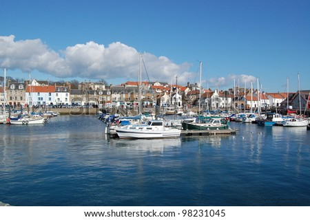 harbour in anstruther scotland