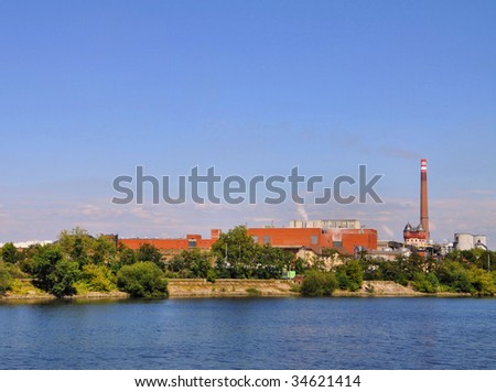 Harbour view - stock photo