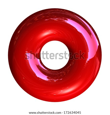 Hard Candy isolated on white - stock photo