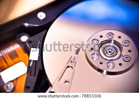 Hard disk drive - stock photo
