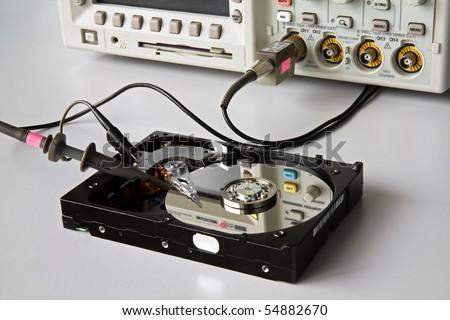 Hard Disk Repair - stock photo